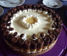 Rezept Eierlikör-Schokoröllchentorte von bininanny - Rezept der Kategorie Backen süß