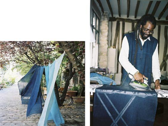 Aboubakar Fofana   The Art of Indigo Dying   Photographs Jonas Unger