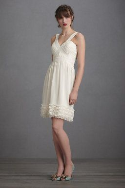 Crème Fraiche Dress, for the reception or bridal shower