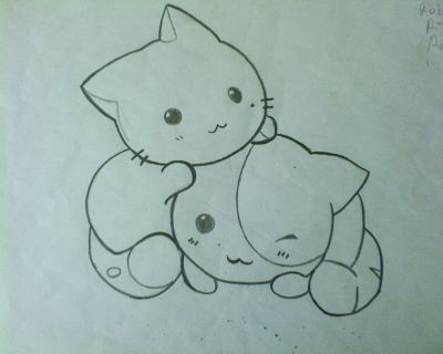 dibujos a lapiz de animales tiernos faciles , Buscar con Google