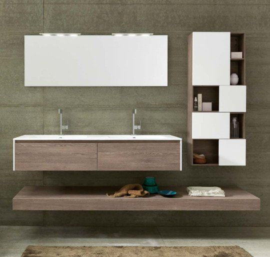 Emejing mobile bagno 2 lavabi photos - Bagno con due lavabi ...