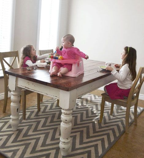 Ana white tabletop and how to paint on pinterest for Homemakers furniture project