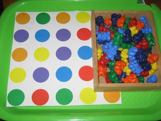 Color Matching Tot Tray #tottrays