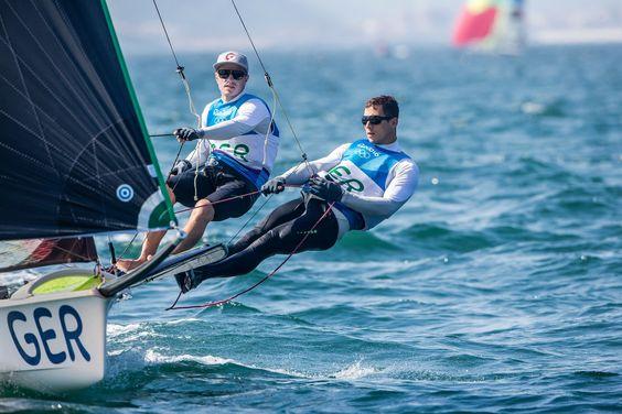 Olympische Spiel Rio 2016 - Erik Heil und Thomas Plößel im 49er auf Medaillenkurs - Photo (2400×1600)