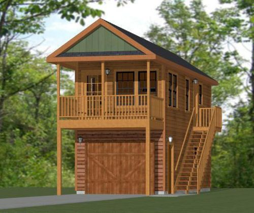 12x32 Tiny House 461 sq ft PDF Floor Plan Rustic model