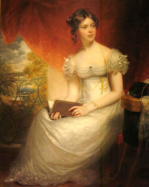Sir Henry William Beechey: Portrait of Kitty Packe: