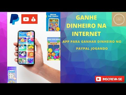App Pagando 5 Dolares Jogos Para Ganhar Dinheiro No Paypal 2020 Youtube Jogos Para Ganhar Dinheiro Ganhar Dinheiro Jogos
