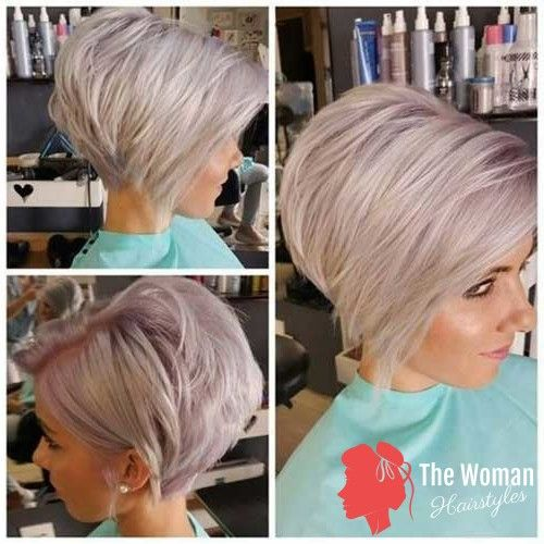 Pixie Bob Haircuts For Neat Look In 2020 Graduated Bob Haircuts Graduated Bob Hairstyles Short Hair Styles