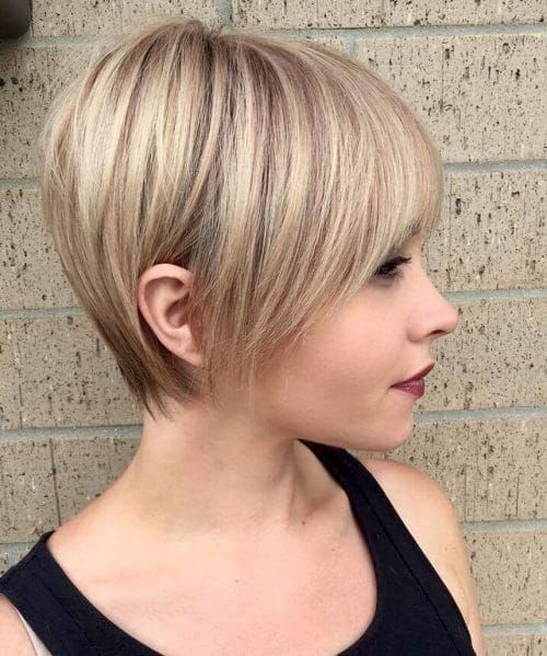 31 Cute Easy Short Layered Haircuts Trending In 2020 Haircuts For Fine Hair Short Hair Styles For Round Faces Thick Hair Styles