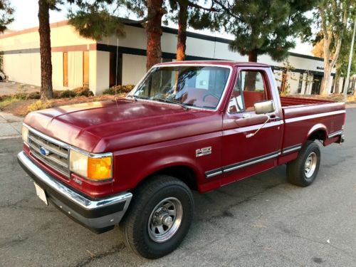 1989 Ford F 150 Xlt Lariat 4x4 Short Bed Pickup Truck Old Trucks