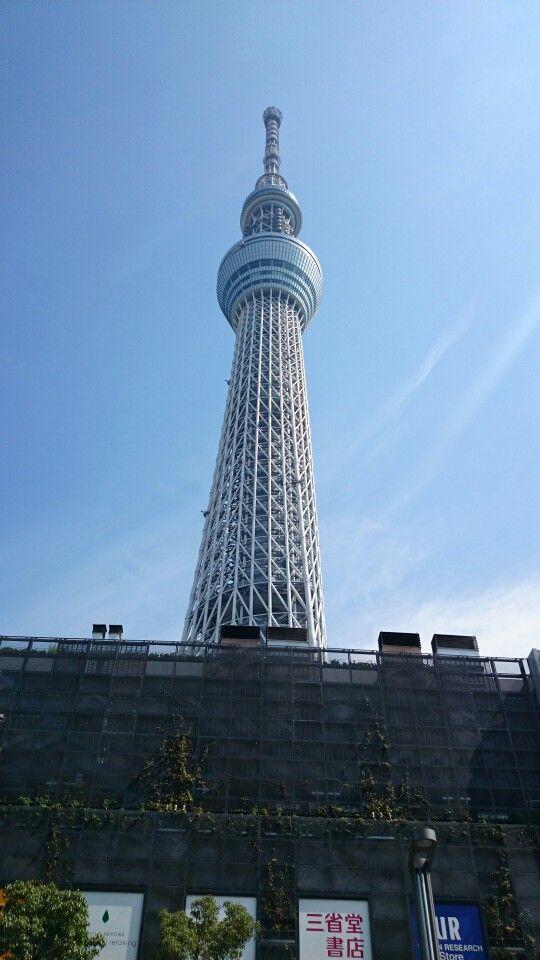 東京スカイツリー駅付近