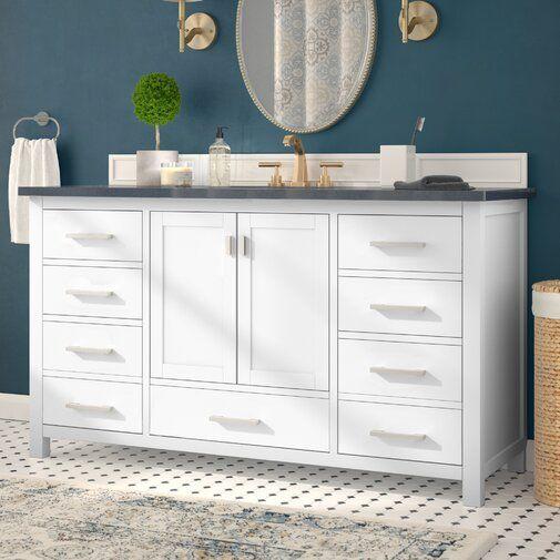 Poyen 60 Single Vanity Base Only Bathroom Vanities Without Tops