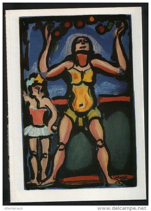 Abstrakte Kunst - Druck, entnommen aus Westermanns Monatshefte