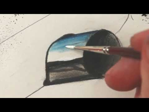 How To Draw Cars: Exhaust Tips/Chrome - YouTube