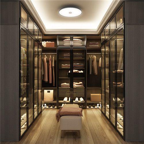 Led Hanging Closet Rod Glass Door Closet Haus Interieu Design