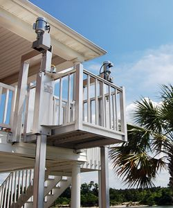 Beach butler cargo lifts home page an outdoor dumb waiter for Beach butler elevator