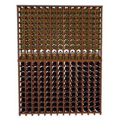 Wineracks Com Premium Cellar Series 260 Bottle Floor Wine Rack Finish Pine Wine Rack Wine Bottle Rack Rebrilliant