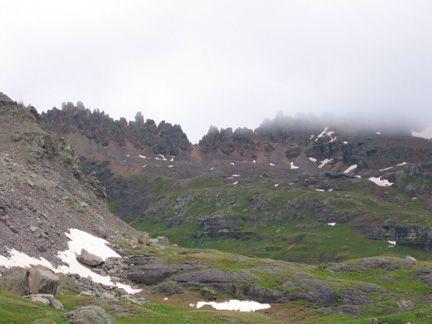 virginius pass colorado | Crossing the High Divide, hiking Colorado's high mountain passes. 2009