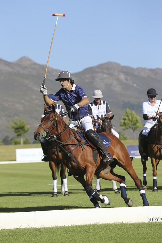 Nacho Figueras - Sentebale Royal Salute Polo Cup in Cape Town with Prince Harry - Polo