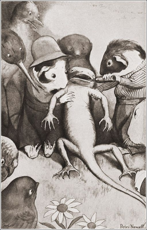 "Peter Newell «Алиса в стране чудес» | ""Картинки и разговоры"":"