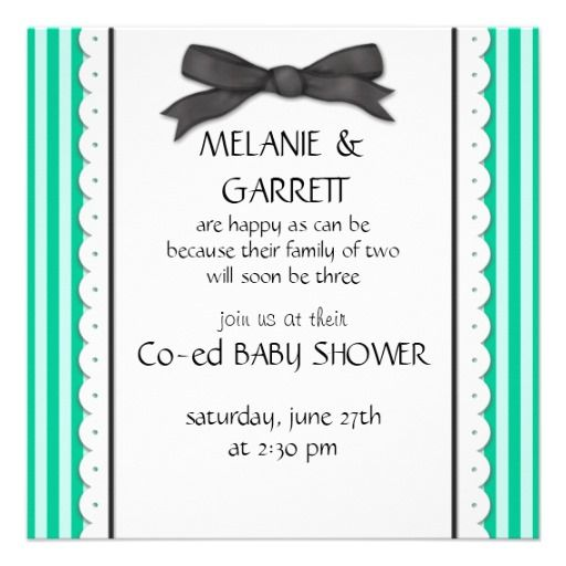 co ed baby shower invitation baby v pinterest baby showers