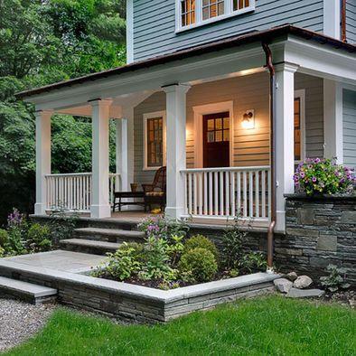 crisp architects porch landscape homefront pinterest