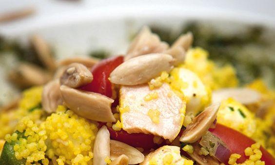 Quem disse que salada não alimenta e não satisfaz? A chef Nanda de Lamare, do restaurante carioca Gula Gula, apresenta um prato que pode valer por uma refeição