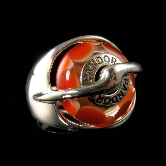 Pandora Interchangeable Earrings: Original Interchangeable Bead Ring