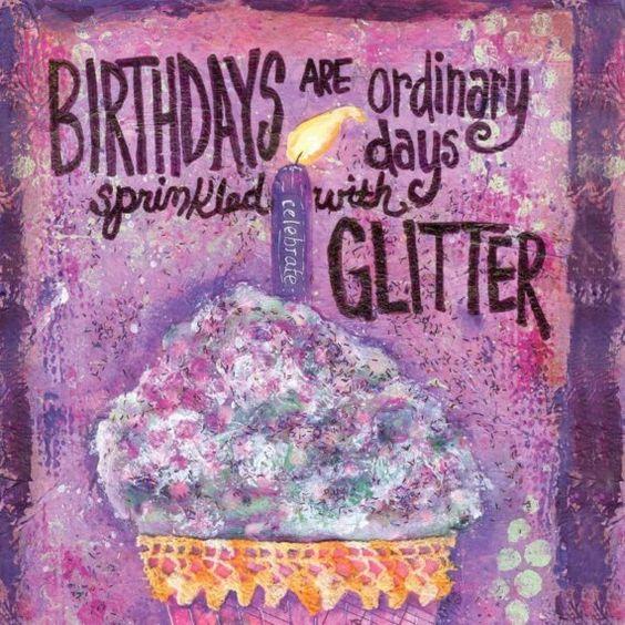 Birthday card or sign
