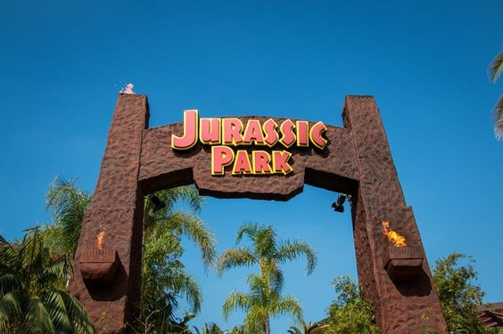 Jurassic Park Set at Universal Studios Hollywood