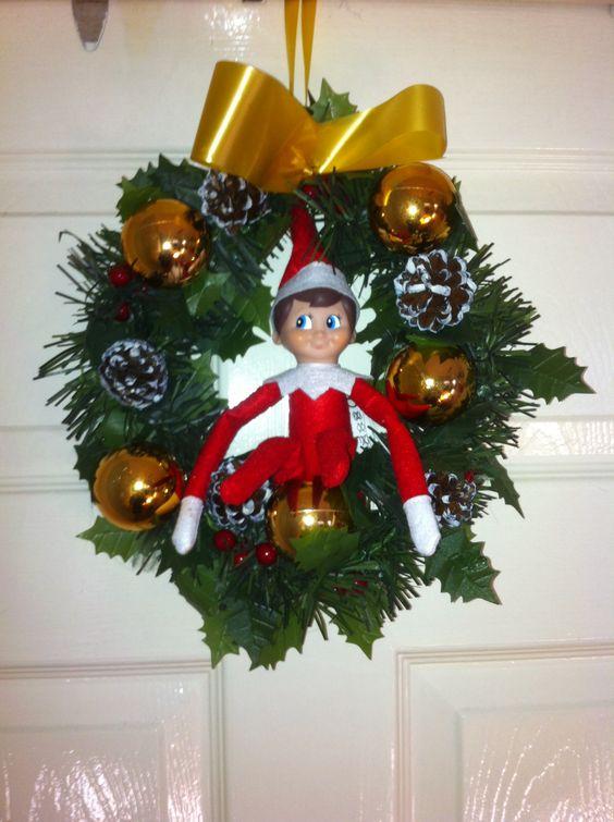 Bobby on the wreath :)