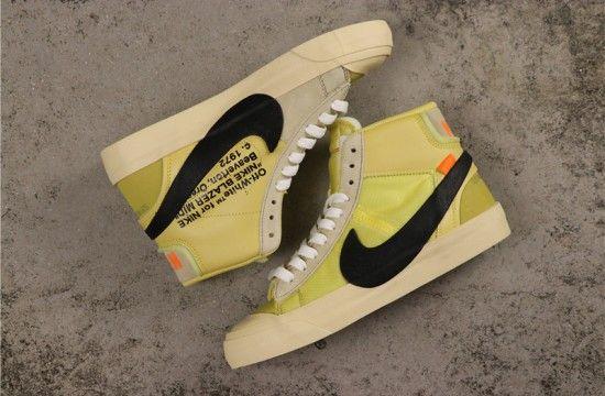 x Nike Blazer Mid Yellow Black