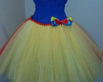 Snow White Inspired Tutu Dress by krystalhylton on Etsy