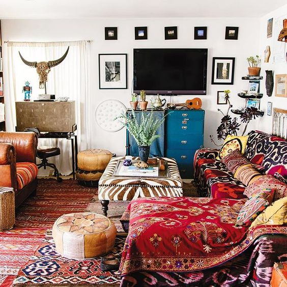 On Creating A Bohemian Paradise (At Home): 4 Tips From Interior Expert Justina Blakeney. | Blog | The Fix: