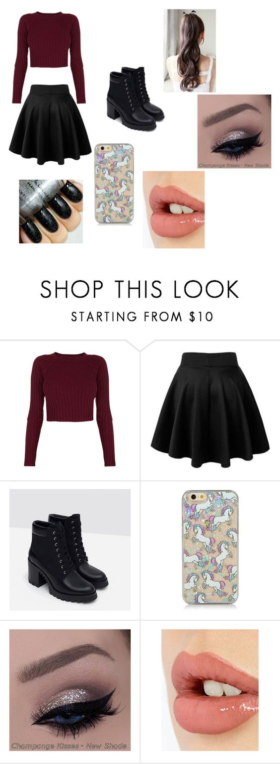 """Valentine's Day Outfit"" by asialawson119 on Polyvore featuring For Love & Lemons, Zara, Charlotte Tilbury, women's clothing, women's fashion, women, female, woman, misses and juniors"