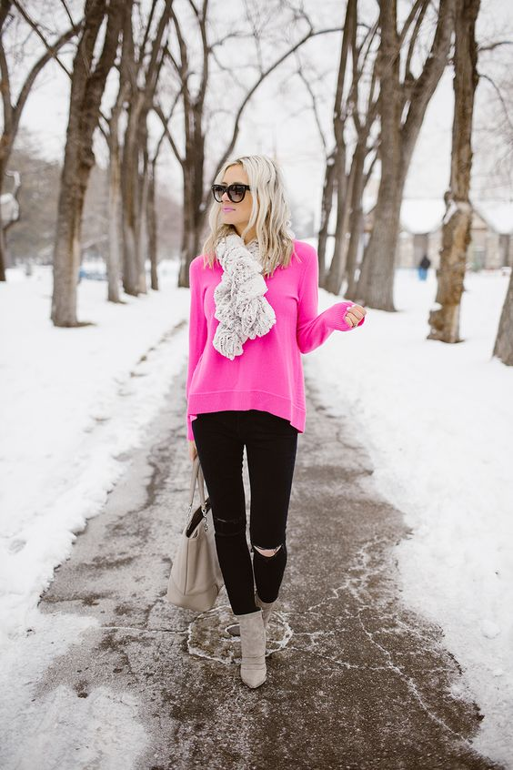 Perfect Boho Winter Outfit