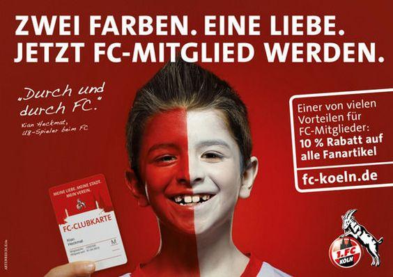 Der 1. FC Köln will in die Erste Marketing-Liga.