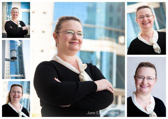 Portrait corporate headshot