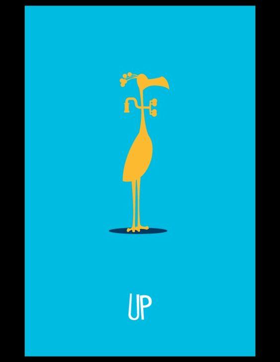 Minimaliste / Pixar - Up
