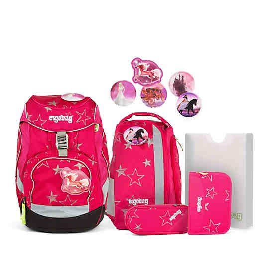 Ergobag Ergobag Pack Schulrucksackset Cinbarella 6 Tlg Rosa Rucksack Ergobag Schulrucksack Schulranzen