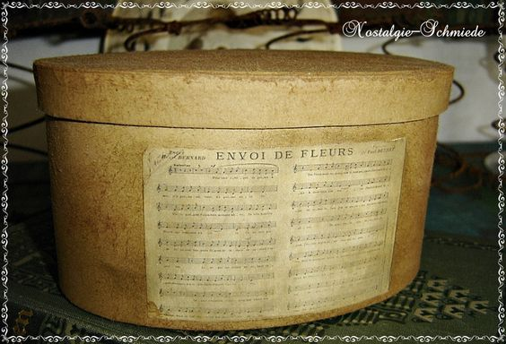 Schachtel /  Box Shabby von Nostalgie-Schmiede auf DaWanda.com