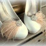 decorar zapato de novia
