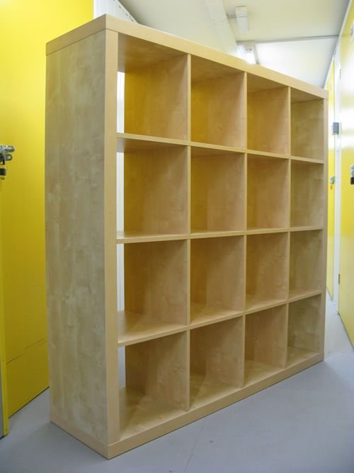 bookshelf wall dividers birch 4x4 shelving bookcase storage wall
