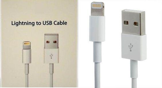 Cable Lightning a USB para iPhone 5 / 5S / 5C / 6 6S iPad (1 m) USB Lead 1 Metre