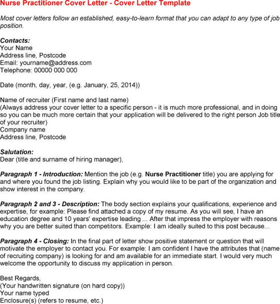 cover letter examples for nurse practitioners - 12 nurse practitioner cover letter riez sample resumes