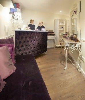 Salon Reception Desk - Retail Cash Desk - French Style Shabby Chic