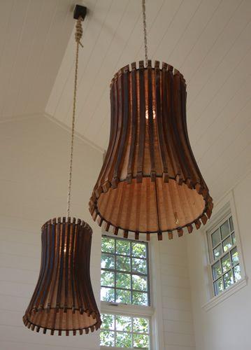 wine barrel light fixtures beautiful lighting fixtures