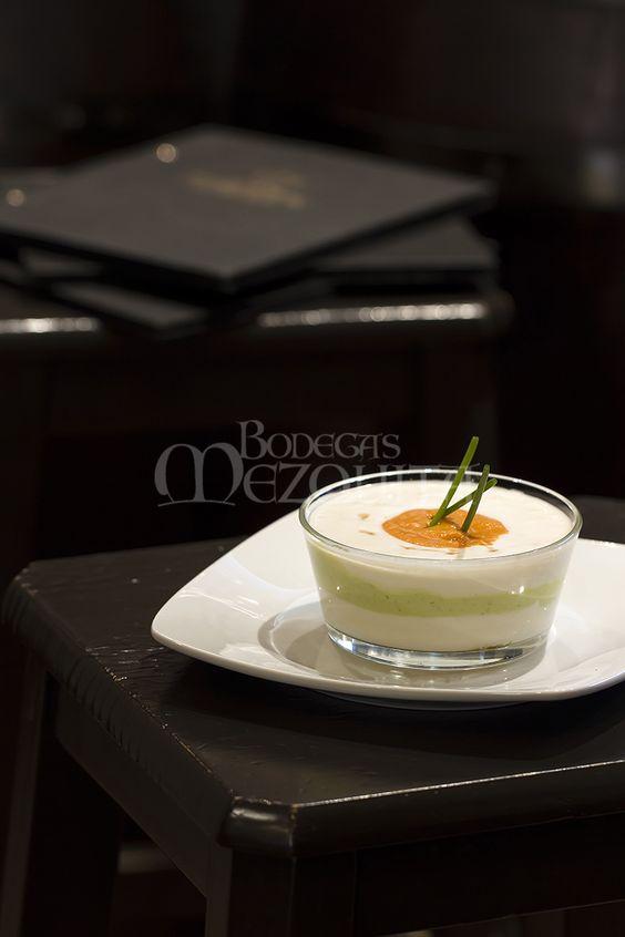Nuestro ajoblanco, exquisito. www.bodegasmezquita.com