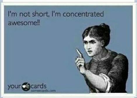 #shortstuff