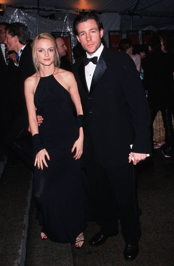 Pin for Later: 75 Moments Inoubliables du Met Gala Heather Graham et Ed Burns — 1999